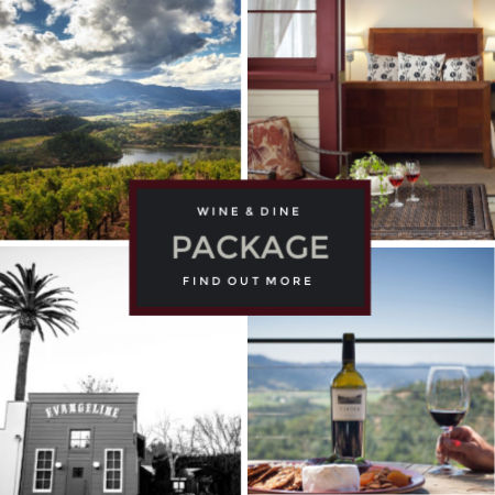 Wine and Dine in Calistoga, CA Package