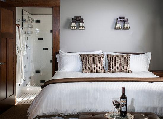 Calistoga Wine Way Inn Rooms