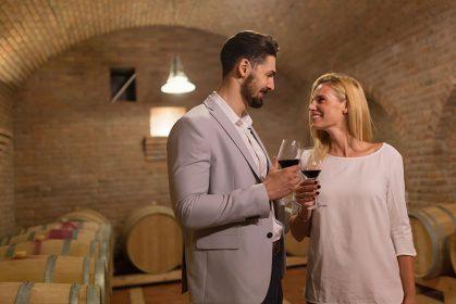 Barrel Room Wine Tasting