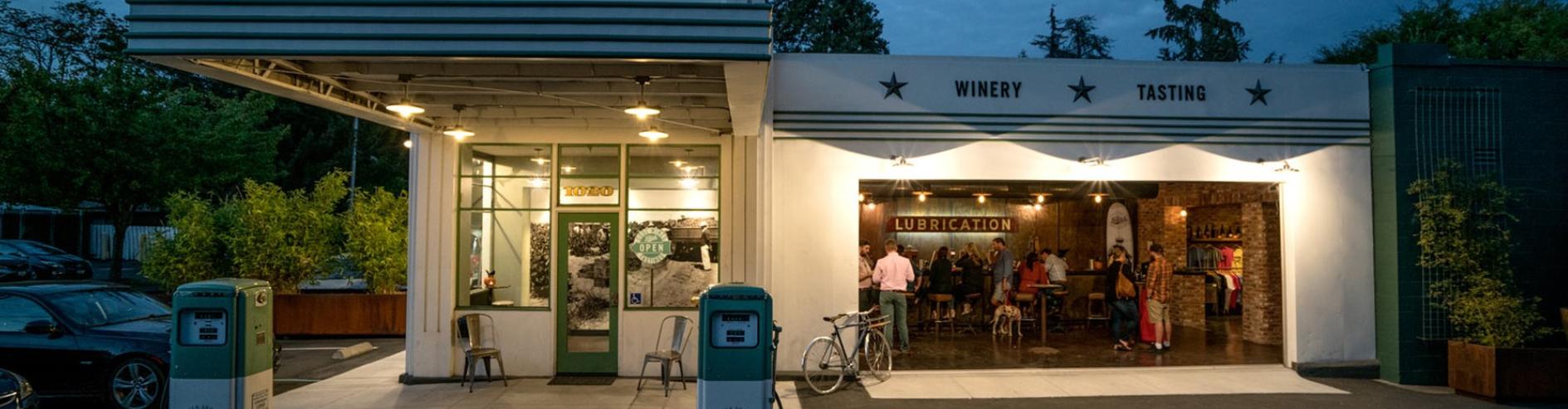 Best Tasting Rooms In Napa Valley Tank Garage Winery Best